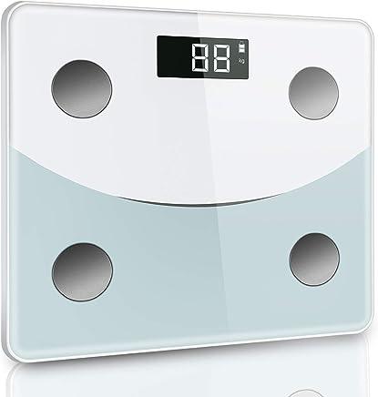 体重計 体組成計 体脂肪計 デジタル ダイエット Bluetooth対応 アプリで健康管理 BMI 体脂肪率 筋肉量 体水分量 ヘルスメーター 薄型 180 kgまで