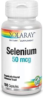Solaray Selenium 50 mg | Selenio | 100 VegCaps