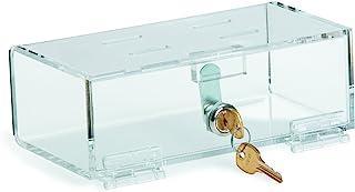 "Omnimed Single Lock Medical Box Small 8.325""W x 4.5""D x 2.875""H (183000-1)"