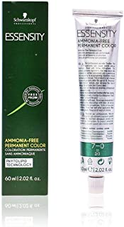Schwarzkopf Professional Essensity Permanent Hair Color, 7-0, Medium Natural Blonde, 2.1 Ounce