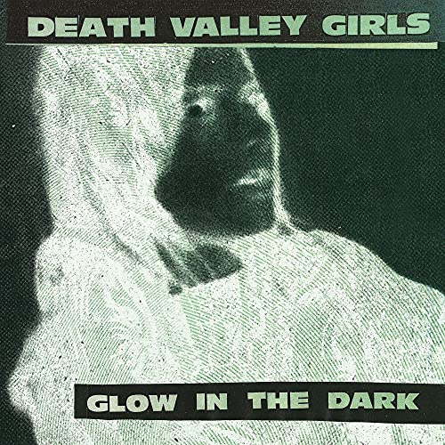 Glow in The Dark-Vinyle Vert Neon Mi Rouge Splatter Noir