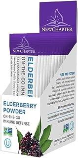 New Chapter Elderberry Powder Immune Defense, 15 Sachets