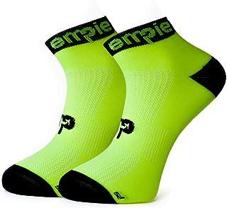 EMPIE sport, Calcetines de deporte con COOLMAX© y SIN COSTURAS, para Running, Ciclismo, triatlón, Fitness, Crossfit o uso diario (Hombre y Mujer). Fabricados en EU