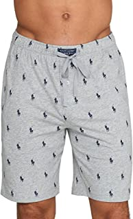 Polo Ralph Lauren Men's All Over Pony Player Jersey Sleep Shorts