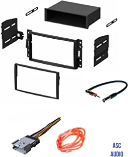 ASC GM510 Car Stereo Dash Kit, Wire Harness, and Antenna Adapter to Install an Aftermarket Radio for some GM Vehicles - Important Compatible Vehicles and Restrictions Listed Below,