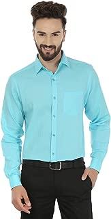 Jainish Men's Cotton Shirt(Dark-Orange)