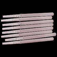 Plusieurs cônes de Barbe à Papa rougeoyants LED réutilisables bâtons de Guimauve colorés Barre de Barbe à Papa antidérapan...
