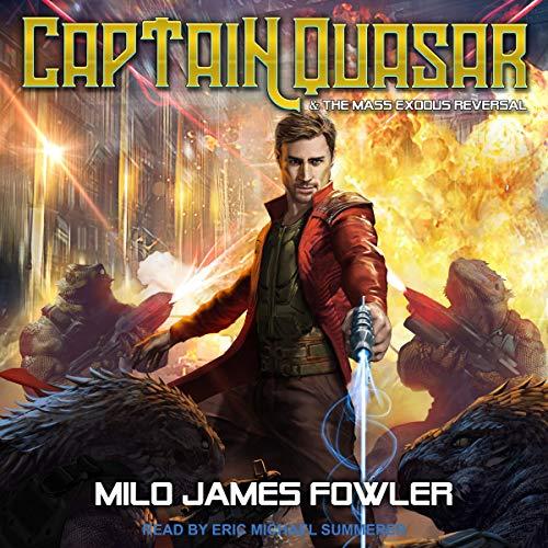 Couverture de Captain Quasar & The Mass-Exodus Reversal