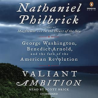 Valiant Ambition audiobook cover art