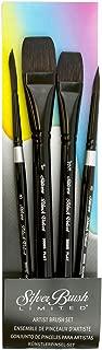 Silver Brush Black Velvet Brush Set