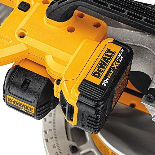 DEWALT 20V MAX 7-1/4-Inch Miter Saw, Cordless (DCS361M1)