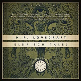 Eldritch Tales     A Miscellany of the Macabre              Written by:                                                                                                                                 H. P. Lovecraft                               Narrated by:                                                                                                                                 various narrators                      Length: 20 hrs and 8 mins     1 rating     Overall 5.0