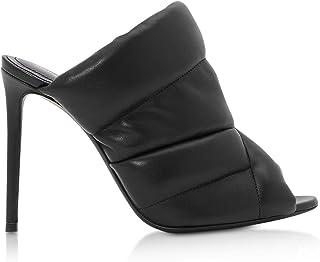 NICHOLAS KIRKWOOD Women's 910B10NLS1N99 Black Leather Heels