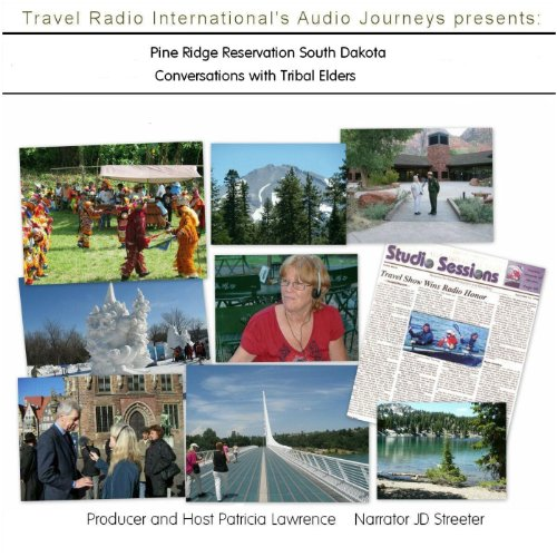 Audio Journeys: Pine Ridge Reservation South Dakota audiobook cover art