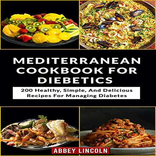 Mediterranean Cookbook for Diabetics cover art