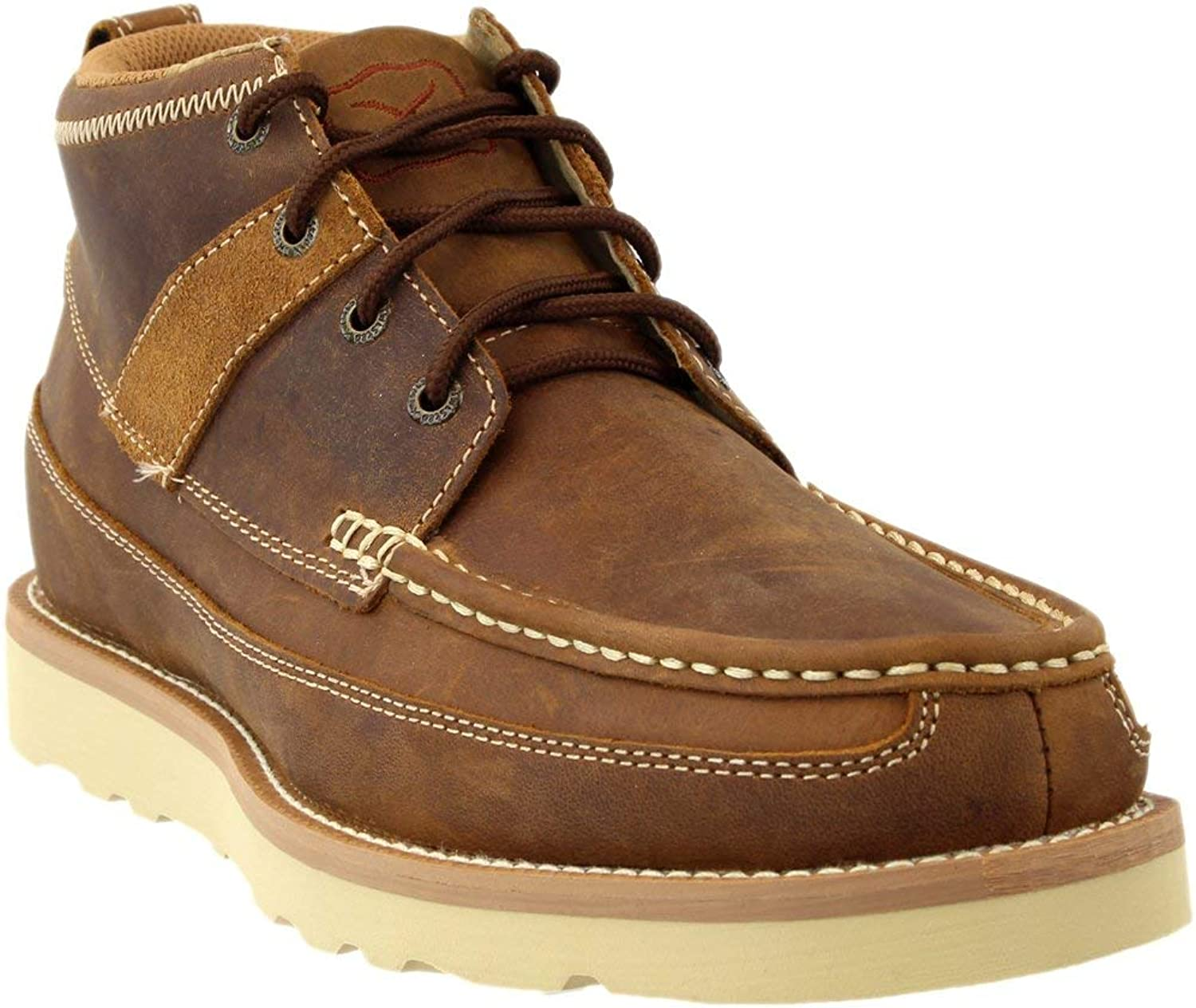 Twisted X Men's Oiled Leather Boot Moc Toe