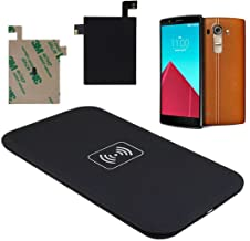 AutumnFall Qi Wireless Charger Charging Pad + Qi Receiver Sticker With NFC for LG G4