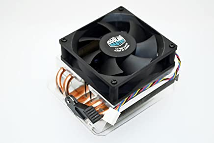 PartsCollection AMD FX-9370 Cooler Master 80MM Copper Pipe Base Heat Sink High Performance PWM Cooling Fan