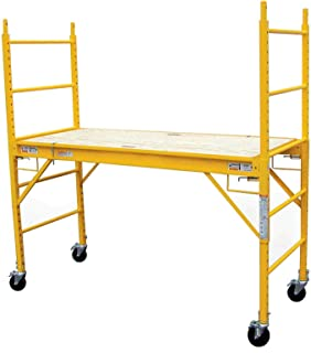 6' Multipurpose Functional Steel Professional Indoor/Out Scaffolding, ladders