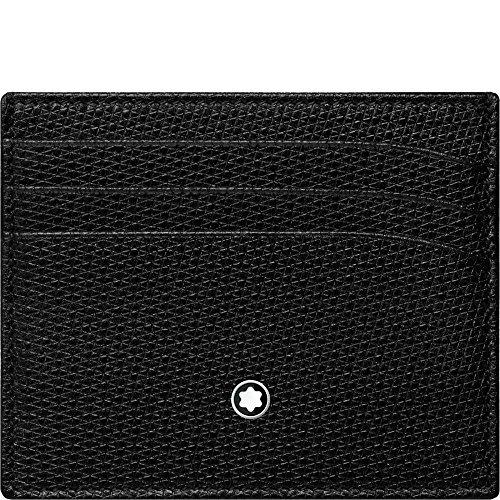 Montblanc Meisterstück Tarjetero 10 Centimeters Negro (Schwarz)