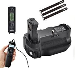 Meike MK-A7II Pro Vertival Battery Grip with 2.4G Remote Controller for Sony A7ii A7Rii with LCD Timer Shutter Release Cord