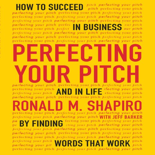 Perfecting Your Pitch audiobook cover art