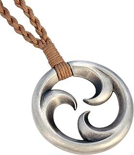 Bico Trikoru Pendant w Hand-Woven Cord (SR1) - New Life, Peace and Serenity