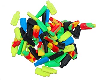 5 Non-stick Silicone Tips for Concentrate Wax Pick Dabber Tools Assorted Mix