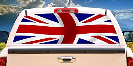 perforated car window decals uk