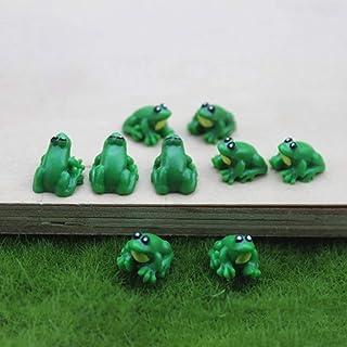 1:12 Scale Lazy Ceramic Frog Tumdee Dolls House Garden Ornament Accessory X