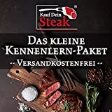 "Das kleine""Kauf Dein Steak"" Kennenlern-Paket incl. Rumpsteaks (Dry-Aged), Rib-Eye-Steak ohne Knochen (Dry-Aged), T-Bone-Steak (Dry-Aged)"
