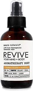 Revive- Citrus Essential Oil Blend + Vanilla, Citrus Aromatherapy Spray, Focus + Positive Mood, Citrus Room Refresher, Bea...