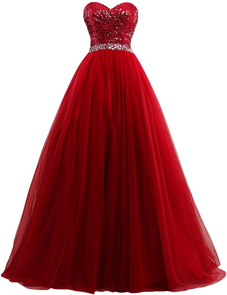 Lowime Women's Ball ご予約品 Gown Tulle Gow Dresses メーカー公式 Quinceanera Prom 2017
