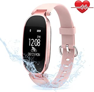 TECKEPIC Reloj Inteligente, Smartwatch Pulsera Actividad
