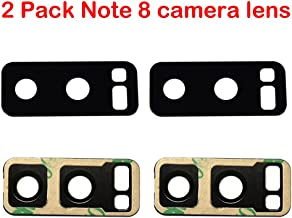 2 Pack Note 8 Back Rear Camera Glass Lens Replacement for for Samsung Galaxy Note 8 N950 + Adhesive Tape