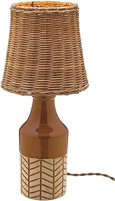 インターフォルム テーブルライト キビオリ ブラウン 電球付き LT-1647BN