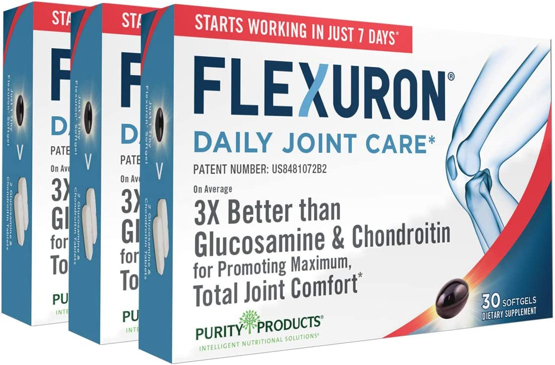 Flexuron Joint Formula by Purity Products Better - Gluco free Than 3X High quality