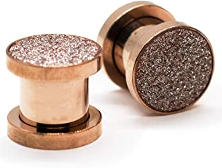 Best rose gold ear plugs Reviews