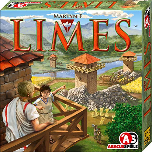 ABACUSSPIELE 06141 - Limes, Familienspiel, Legespiel