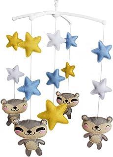 Étoiles Cloche de lit Cadeaux faits à la main Mobile bébé berceau jouet coloré Jouet à suspendre