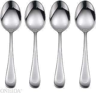 Oneida Satin Sand Dune Set of 4 Dinner Spoons, Casual Flatware