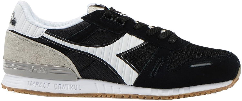 Diadora Men's Titan II Low Top shoes Black White