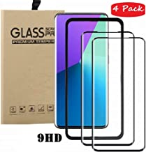 FanTing for Asus Zenfone Max Shot ZB634KL Screen Protector,[9H Hardness,Full Coverage,No bubbles,fingerprint],Scratch-resistant high-quality suitable for Asus Zenfone Max Shot ZB634KL-Black(4 Pack)