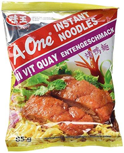 A-One [ 30x 85g ] Instant Nudelsuppe [ Entengeschmack ] Instant-Noodles