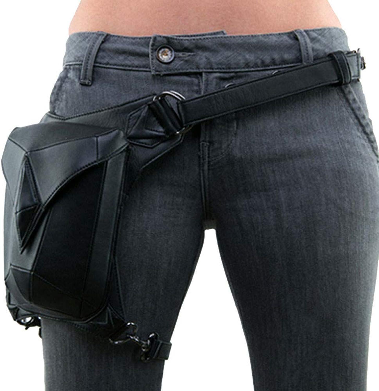 Women's Waist Pocket, Vintage Steampunk Bag, Outdoor Multi-Function Crossbody Bag, Shoulder Bag, Suitable for Shopping, Walking