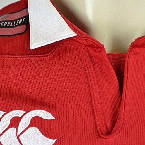 British & Irish Lions Men's VapoShield Matchday Pro Jersey - Tango Red, Medium