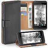 MoEx Premium Book-Case Handytasche passend für HTC Desire