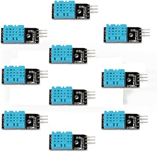 Gowoops 10pcs of DHT11 Temperature Humidity Sensor for Arduino Raspberry Pi 2 3
