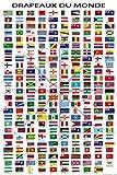 1art1 Flaggen Der Welt - Ländernamen Und Hauptstädte, In