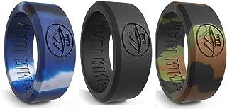 MAUI RINGS Silicone Wedding Ring for Men Solid Style Engagement Rings Silicone Wedding Band for Men Mens Ring Men Wedding ...